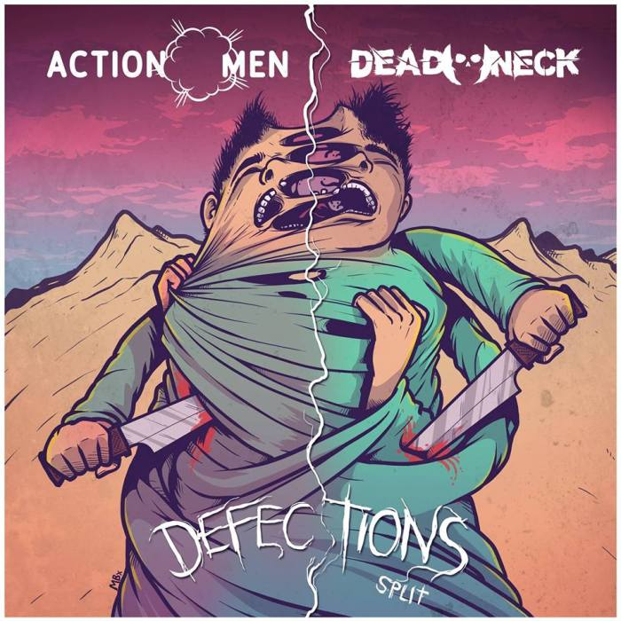 Dead Neck-ActionMen split