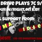 CPRA Presents : Skate Pop Punks Dial Drive To Play 7C On 9/14!
