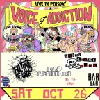 Chicago Based Skatepunks Voice Of Addiction To Play Denver Show 10/26/2019 W/Filthy Hearts, Bad Desicions, and Drink Drank Punk