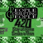 "4/20 Gets Greener As People Corrupting People Release ""Lounge Lizard"""